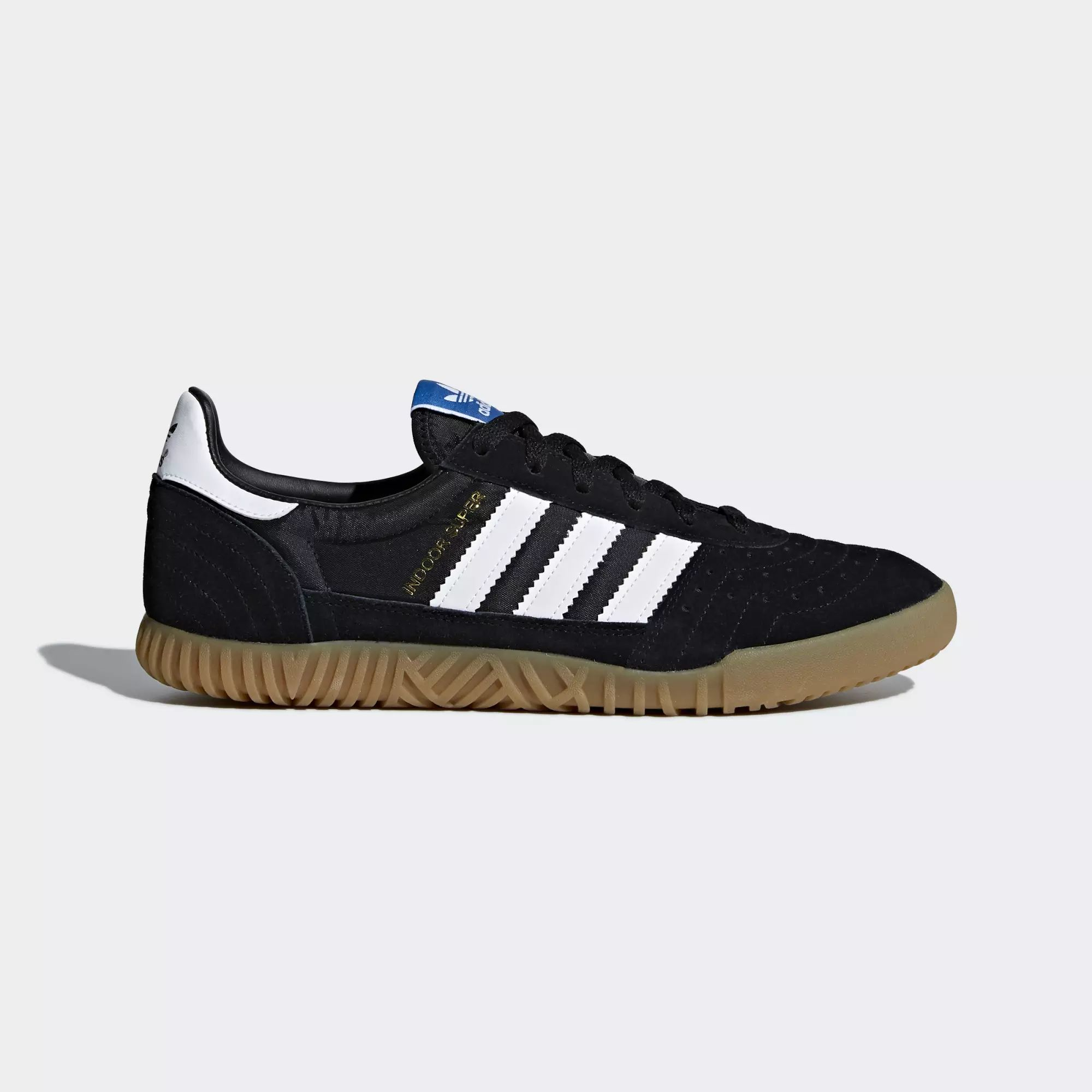 Adidas Indoor Super Shoes - Core Black / Ftwr White / Gum