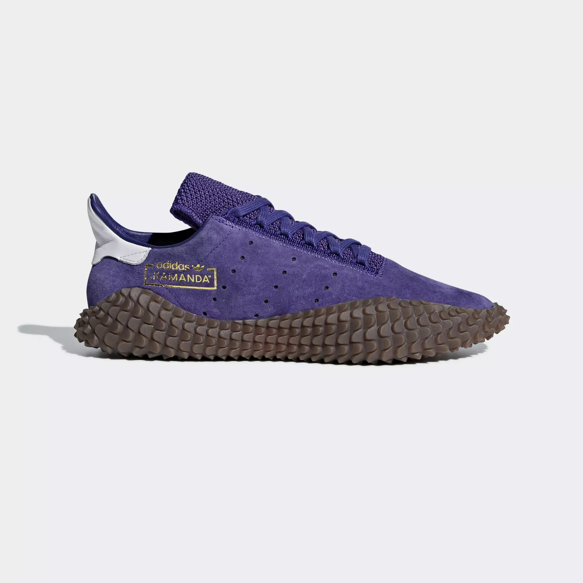 Adidas Kamanda 01 Shoes - Energy Ink / Energy Ink / Crystal White
