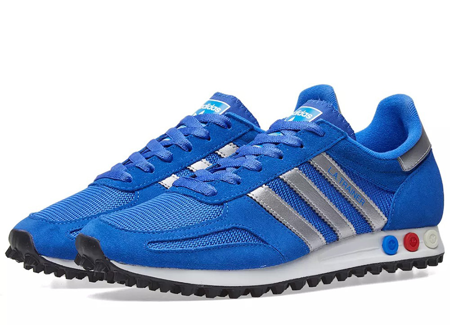 Adidas LA Trainer - Blue / Metallic Silver