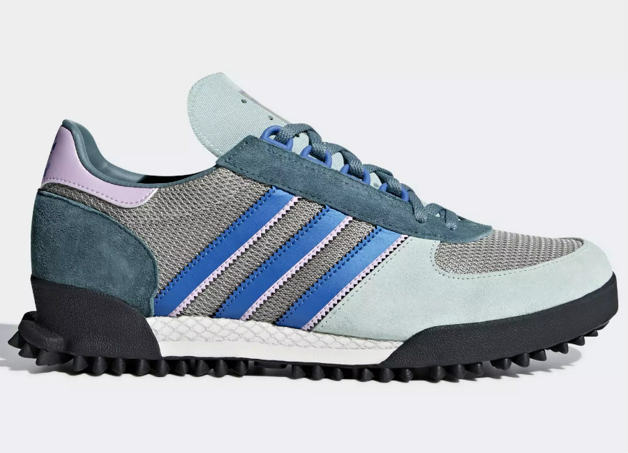 Adidas Marathon TR Shoes - Ash Green / Chalk White / Core Black