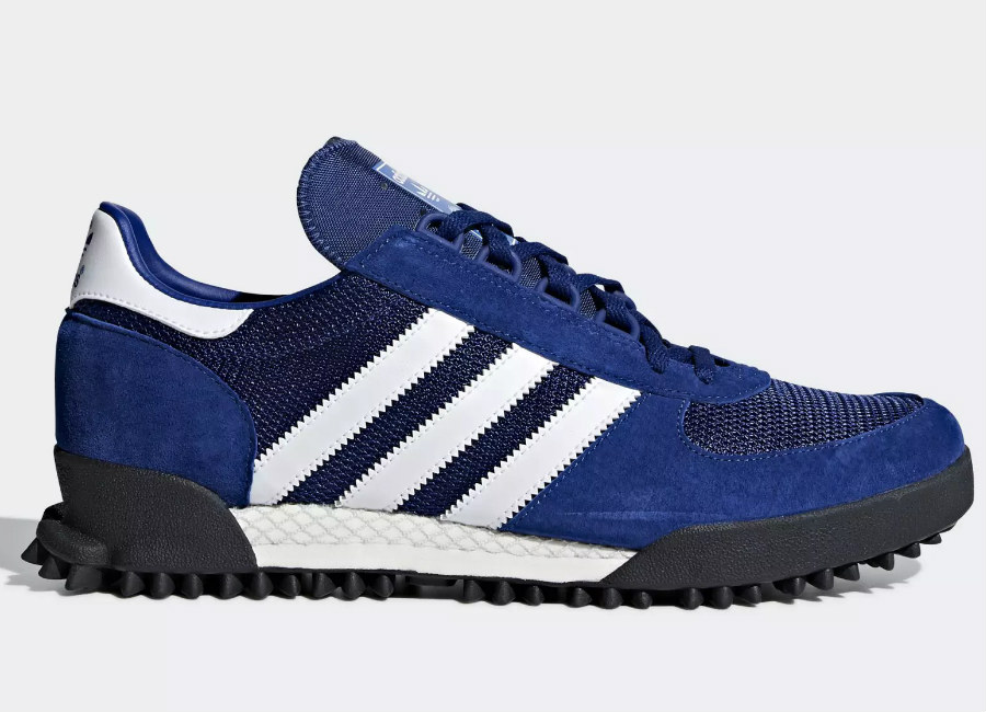 Adidas Marathon TR Shoes - Mystery Blue / Chalk White / Core Black