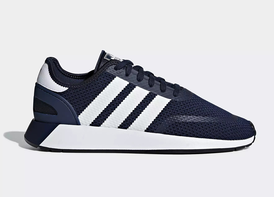 Adidas N-5923 Shoes - Collegiate Navy / Ftwr White / Core Black
