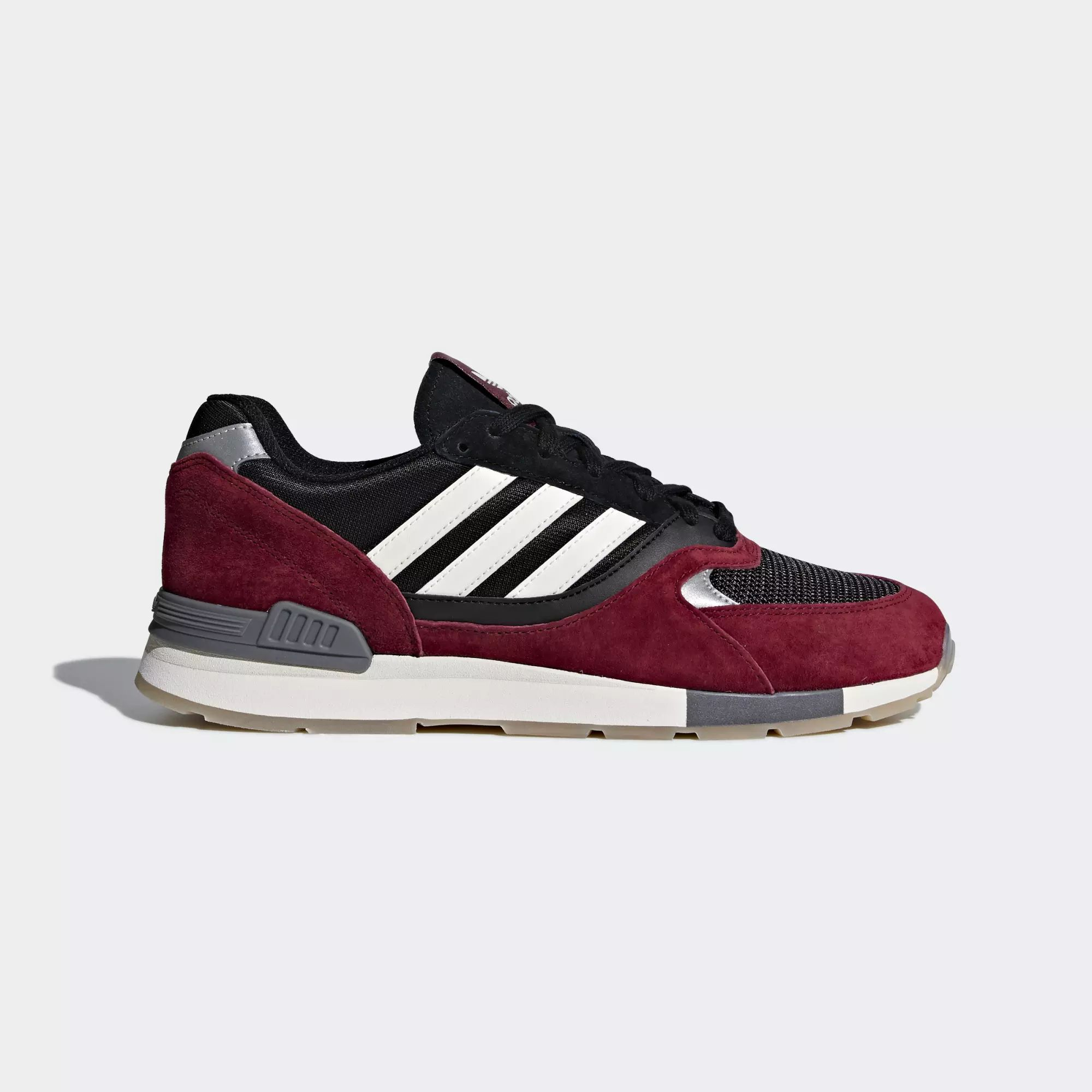 Adidas Quesence Shoes - Collegiate Burgundy / Chalk White / Core Black