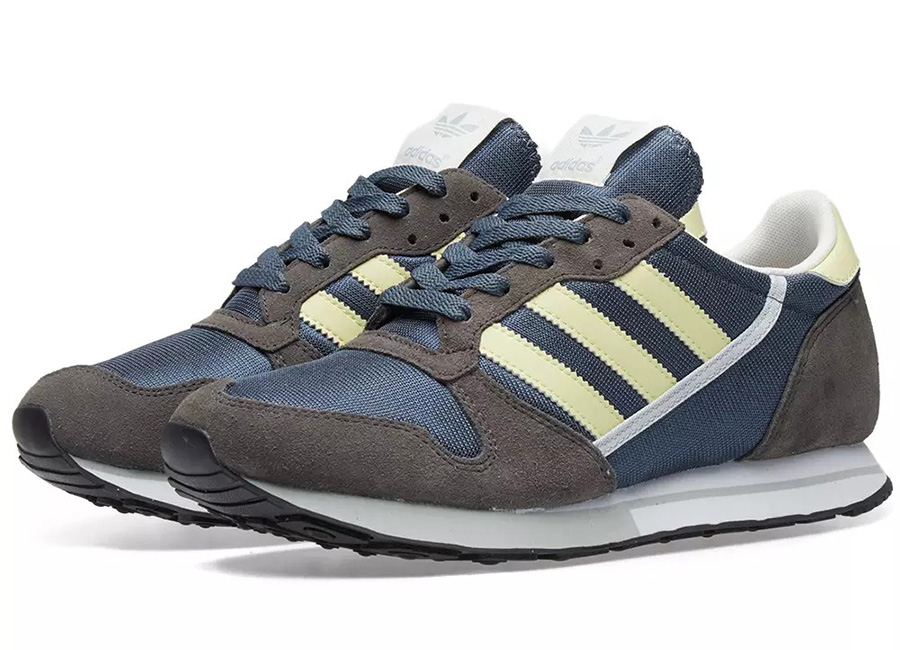 Adidas Spzl ZX 280 - Navy / Grey / Icey Lemon