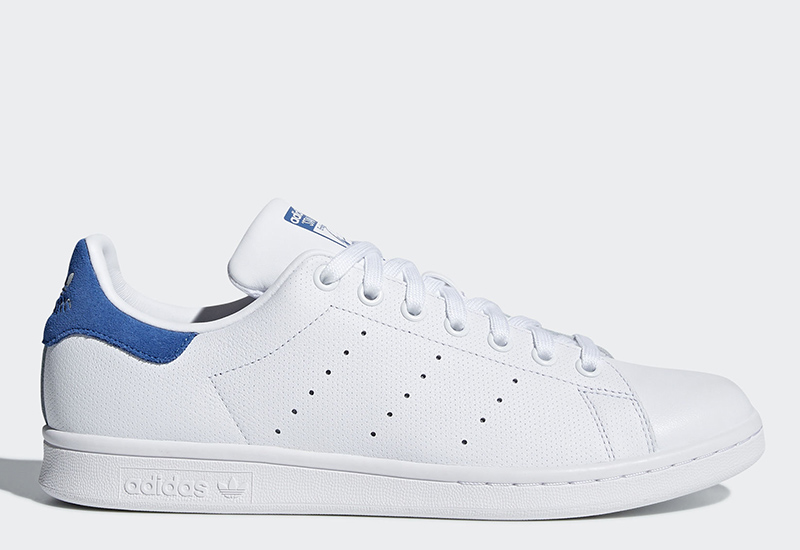 Adidas Stan Smith - Ftwr White / Ftwr White / Trace Royal
