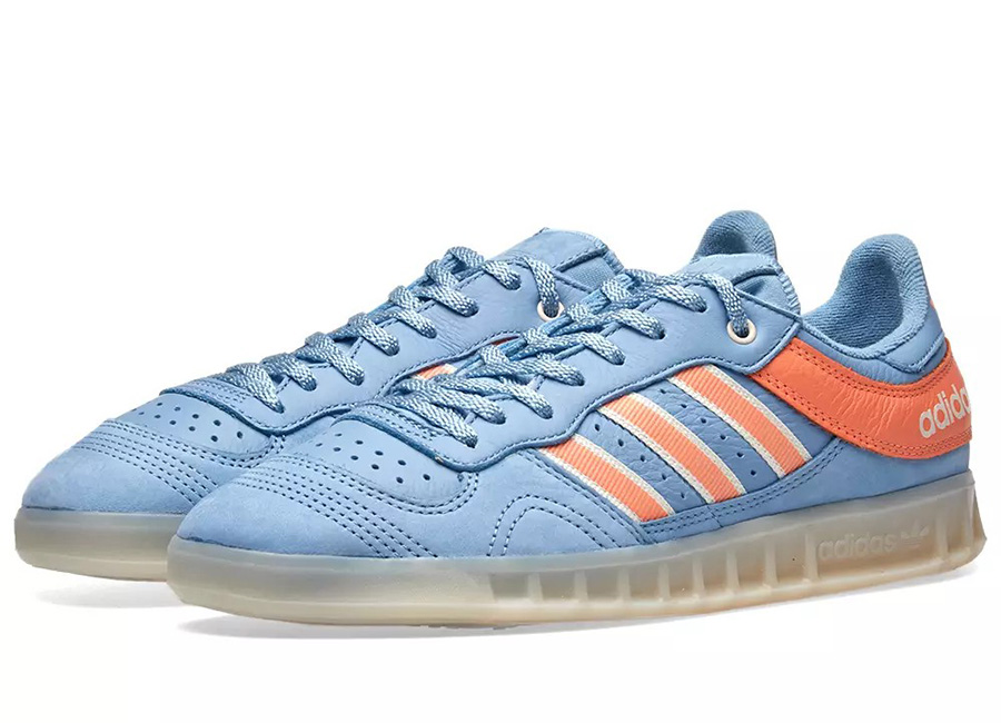 Adidas X Oyster Holdings Handball Top - Blue / Coral / White