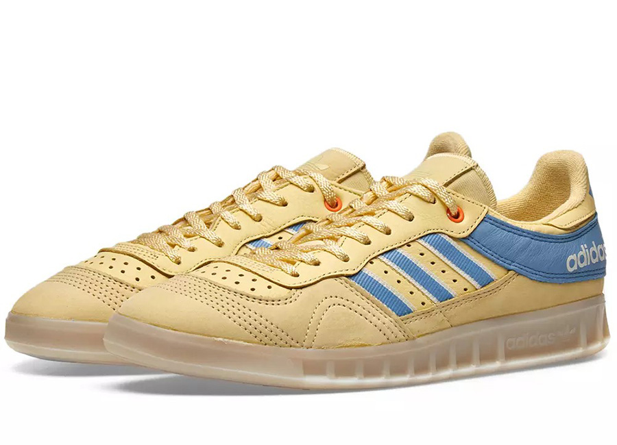 Adidas X Oyster Holdings Handball Top - Yellow / Blue / White