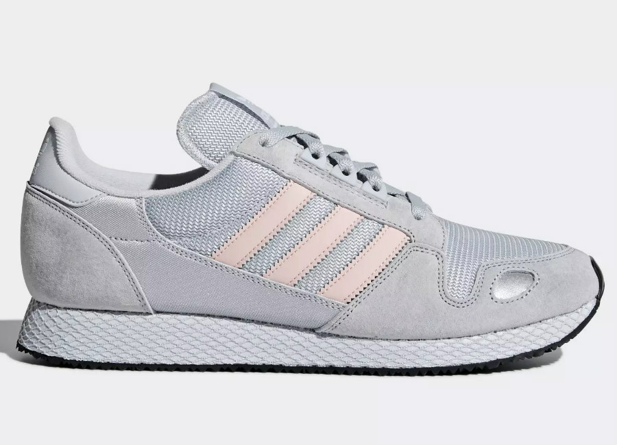 Adidas ZX 452 Spzl Shoes - Clear Grey / Haze Coral / Clear Onix