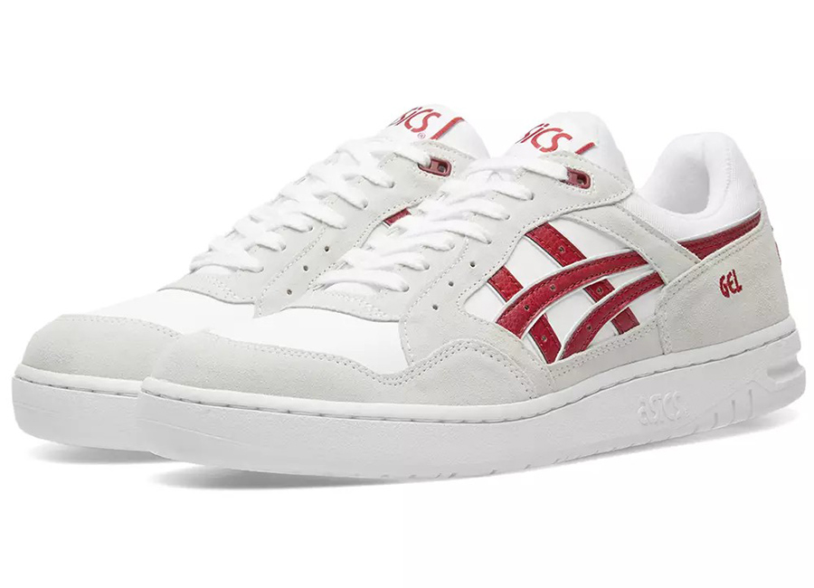 Asics Gel-Circuit - White / Burgundy