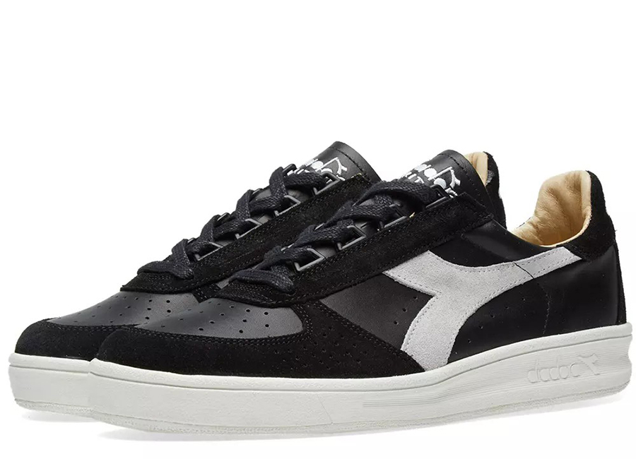 Diadora B.elite SL - Made In Italy - Black