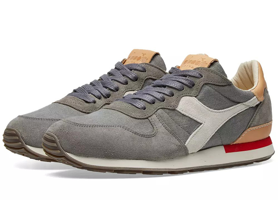 Diadora Camaro Premium - Made In Italy - Storm Grey
