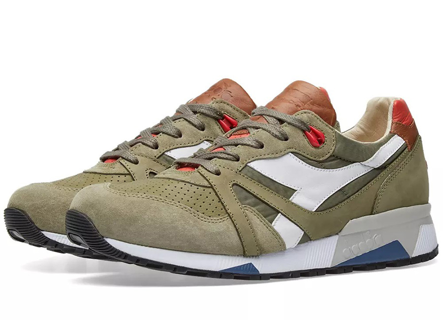 Diadora N9000 H ITA - Made In Italy - Dried Herb / Paprika