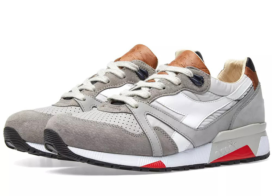 Diadora N9000 H ITA - Made In Italy - Rain Grey / Blue Denim