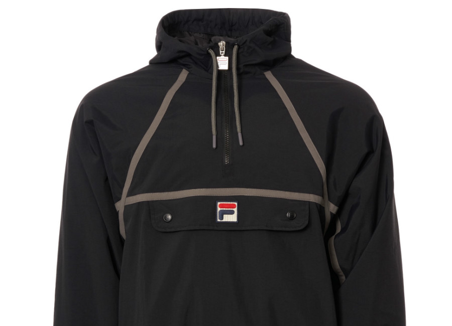 Fila Astor Half Zip Jacket - Black