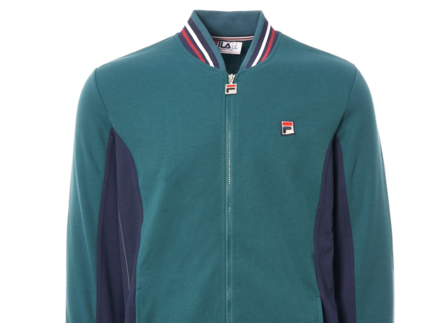 Fila Settanta Track Top - Atlantic Deep / Peacoat / Charcoal Red