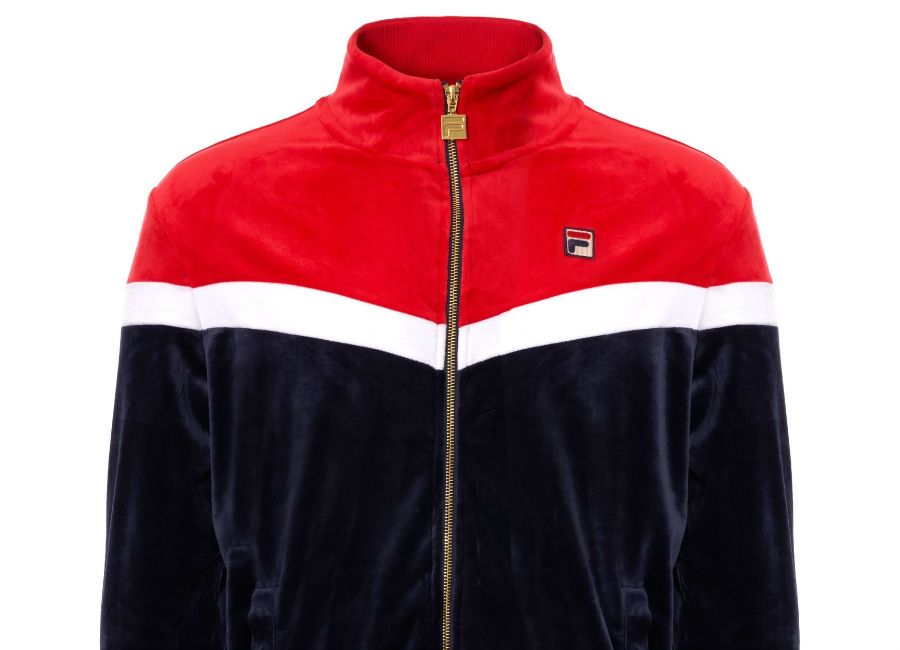 Fila Velour Harry Track Top - Peacoat