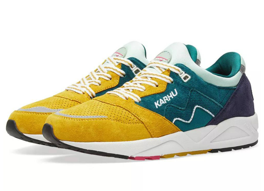 Karhu Aria Track & Field - June Bug / Green Sulpher