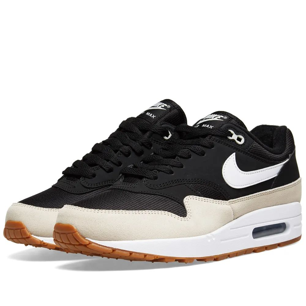 Nike Air Max 1 - Black / White / Light Bone