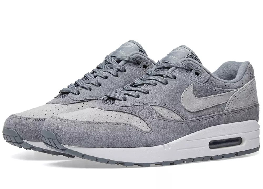 Nike Air Max 1 Premium - Cool Grey / Wolf / White