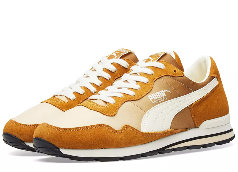 Puma Rainbow OG - Golden Brown / Pebble / White