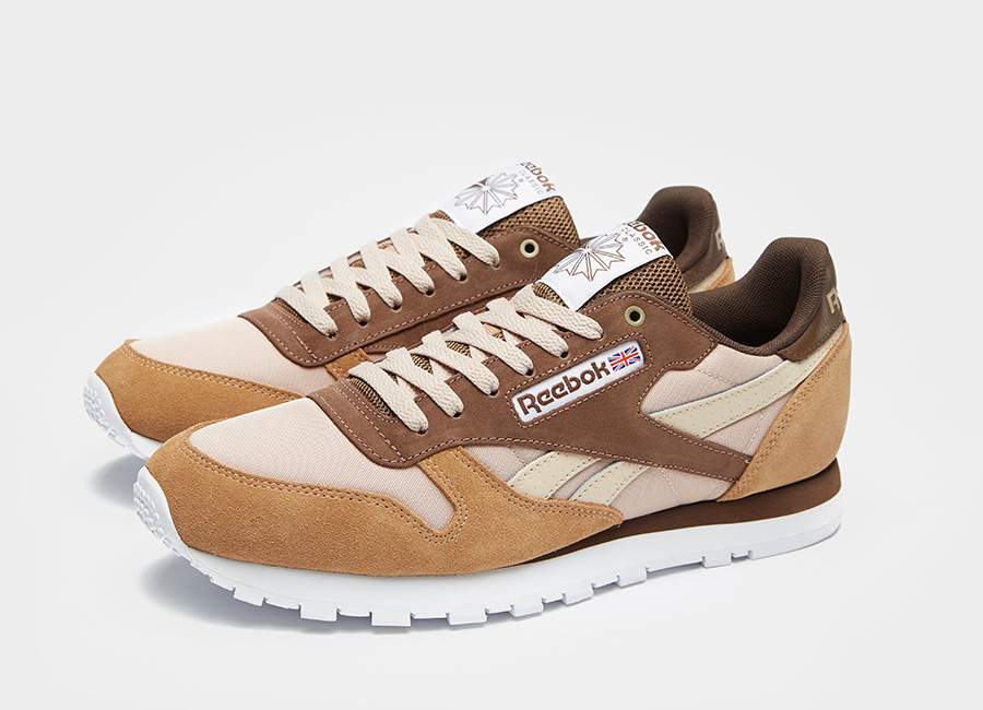 Reebok Classic Leather MCCS - Cappuccino / Toffee / Hot Chocolate / Mushroom