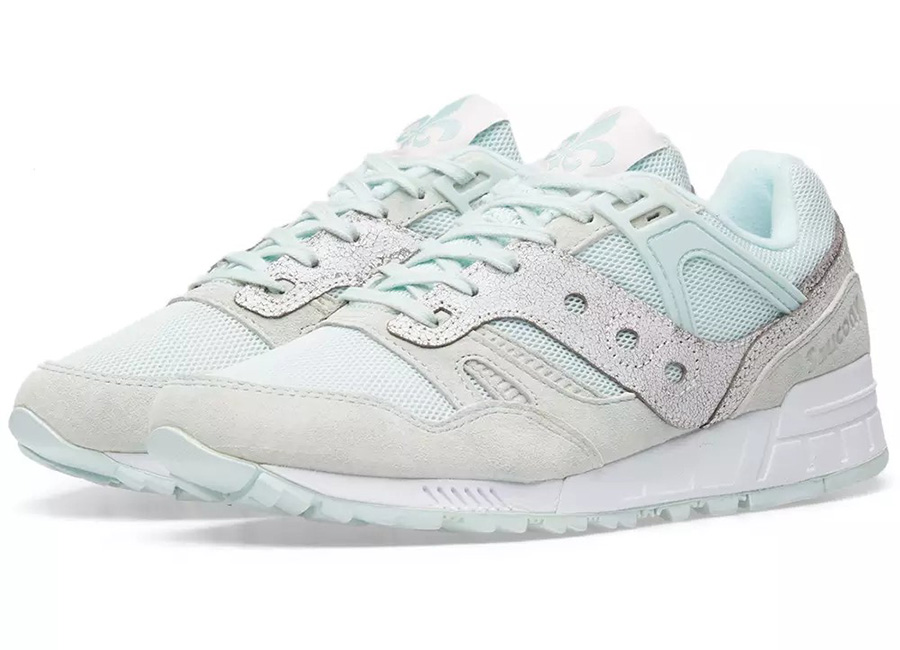 Saucony Grid SD Garden District - Blue / White