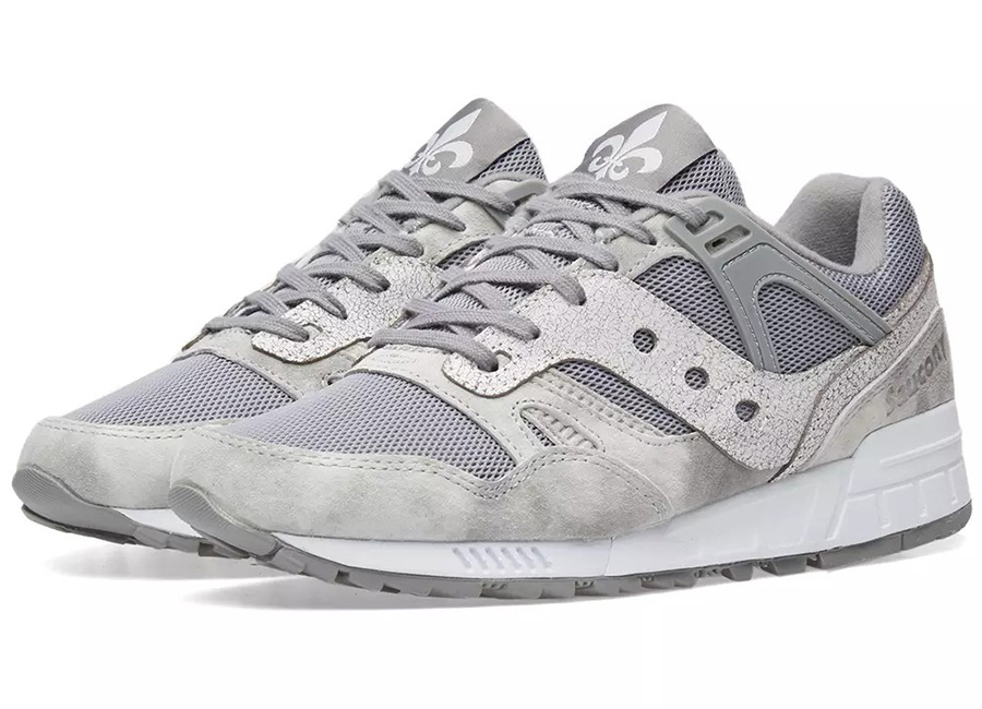 Saucony Grid SD Garden District - Grey / White