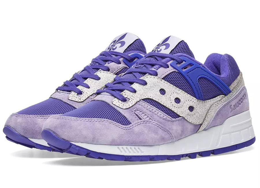 Saucony Grid SD Garden District - Purple / White