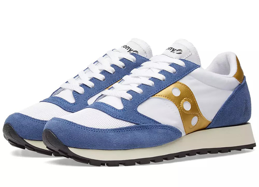 Saucony Jazz Original Vintage - White / Navy