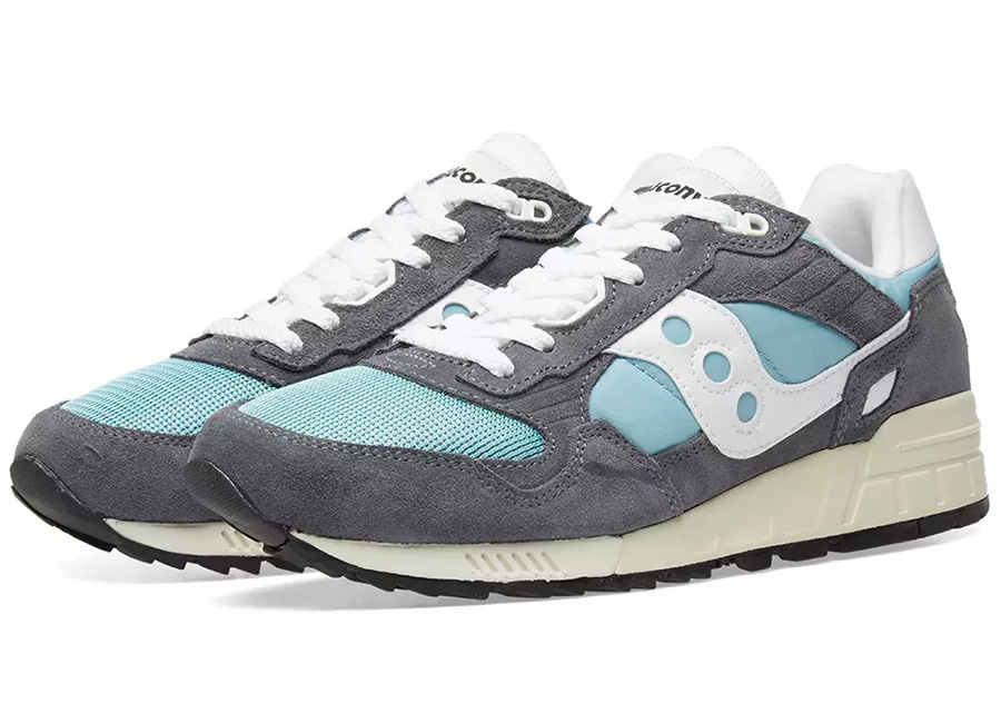 Saucony Shadow 5000 Vintage - Grey / Blue / White
