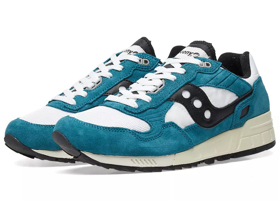 Saucony Shadow 5000 Vintage - Teal / White / Black