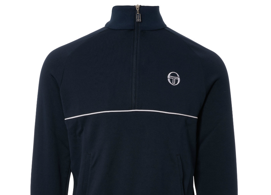 Sergio Tacchini Orion Track Top 1/2 Zip - Navy