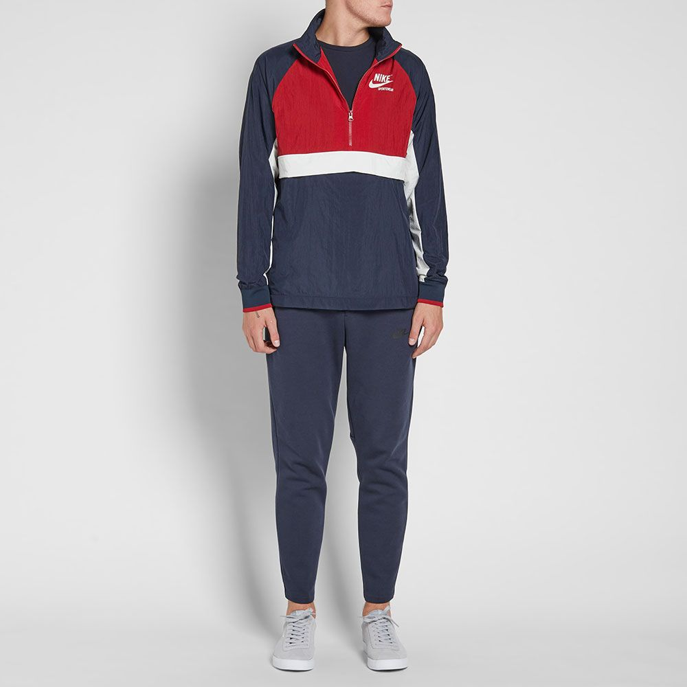 d85e07c82a35 ... Click to enlarge image  nike half zip archive jacket obsidian tough red sail g.jpg