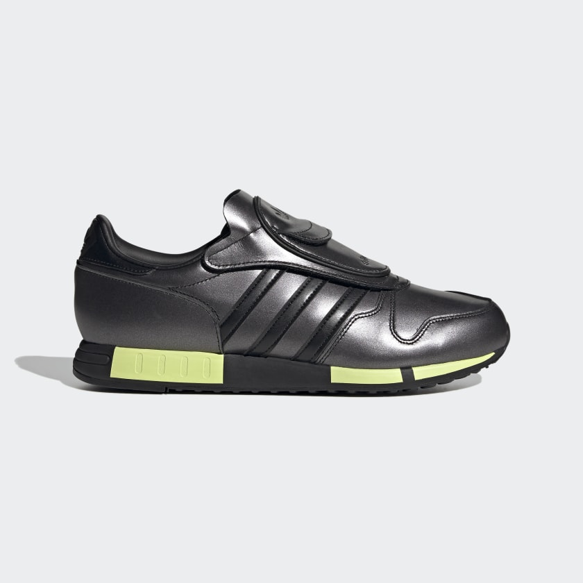 Adidas Micropacer Shoes - Core Black / Core Black / Solar Yellow